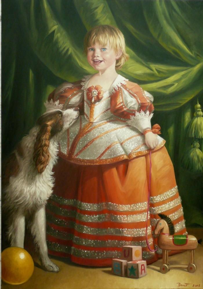 PORTRAIT D'EMILIE – Thierry Bruet