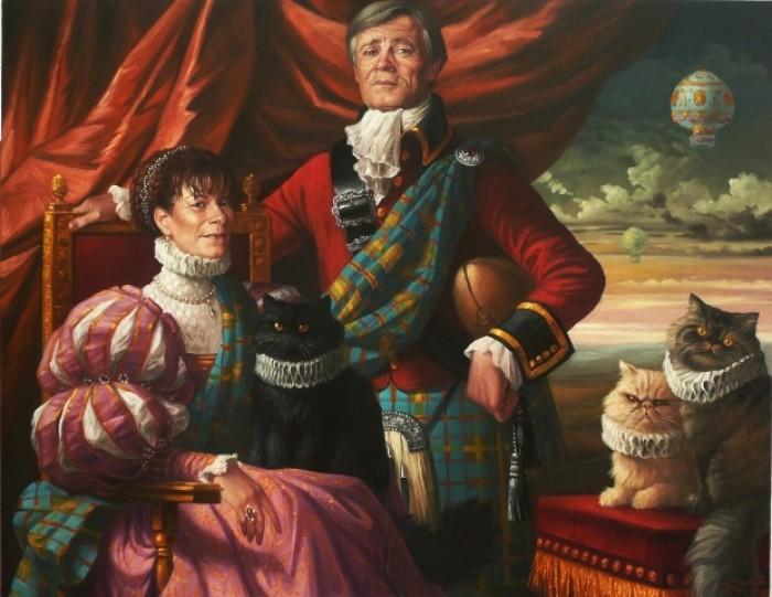 Portrait de Mr et Mme Dietlin