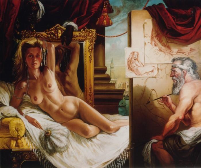 PORTRAIT DE MADAME B – Thierry Bruet