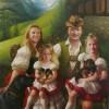PORTRAIT DE LA FAMILLE MARC DE GUNZBURG