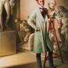 LE DANDY SCULPTEUR – Huile sur toile 80 cm x 60 cm