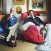 portrait antoine huard et francois michaud huile sur toile 146 cm x 97 cm