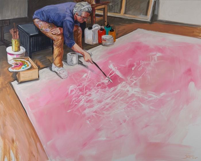 action-painting-n-1-acrylic on canvas-162-cm-x-130-cm-2016-copie
