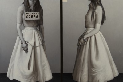 Garde a vue 66994 oil on canvas 162 cm x 130 cm