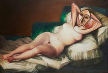 LA DORA DESNUDA – Oil on canvas – 97 cm x 146 cm