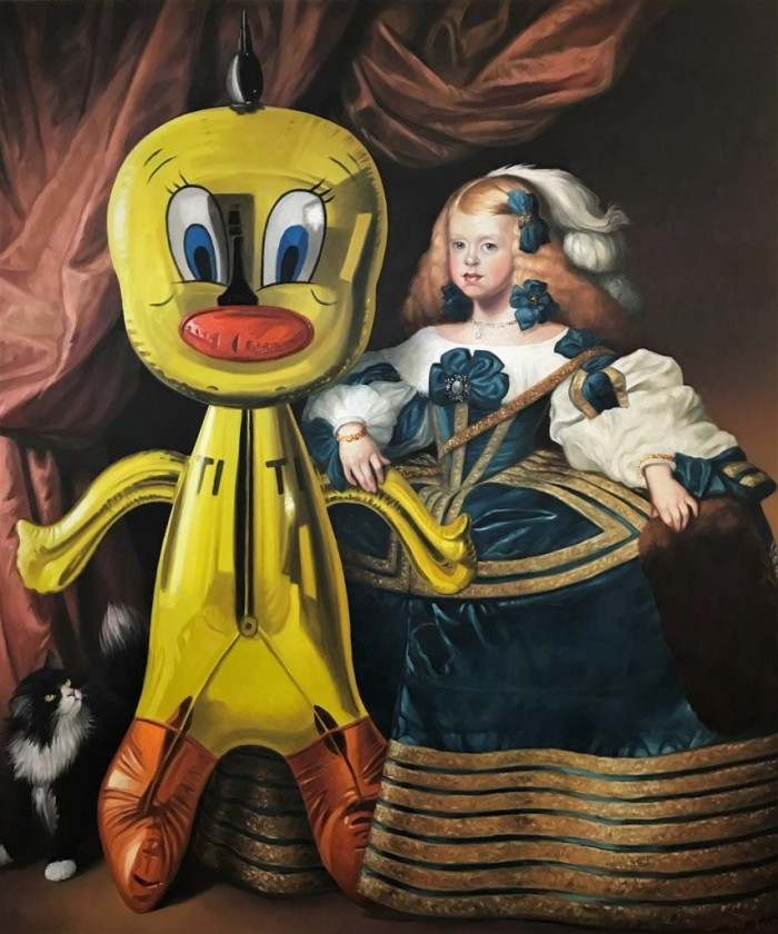 EL TITI OIL ON CANVAS 190 CM X 160 CM THIERRY BRUET 2017