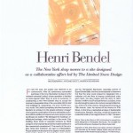HENRI BENDEL 1