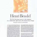 HENRI BENDEL 1
