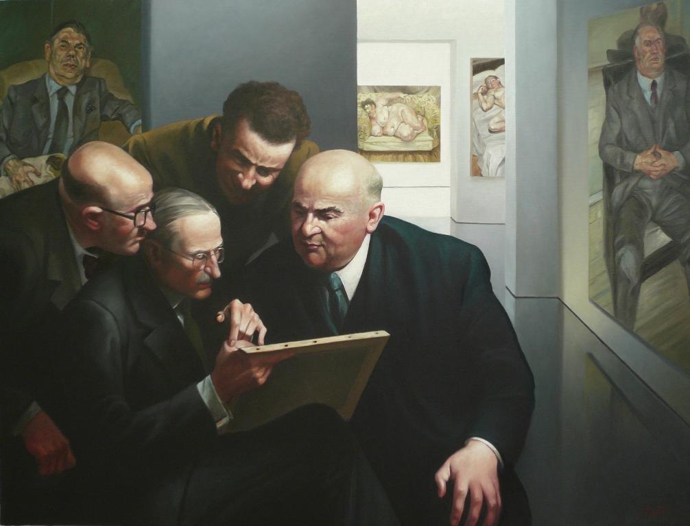 Expertise - Huile sur toile - 89 cm x 116 cm L