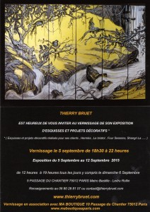 INVITATION EXPOSITION THIERRY BRUET