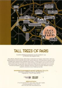 INVITATION VERNISSAGE TALL TREES OF PARIS