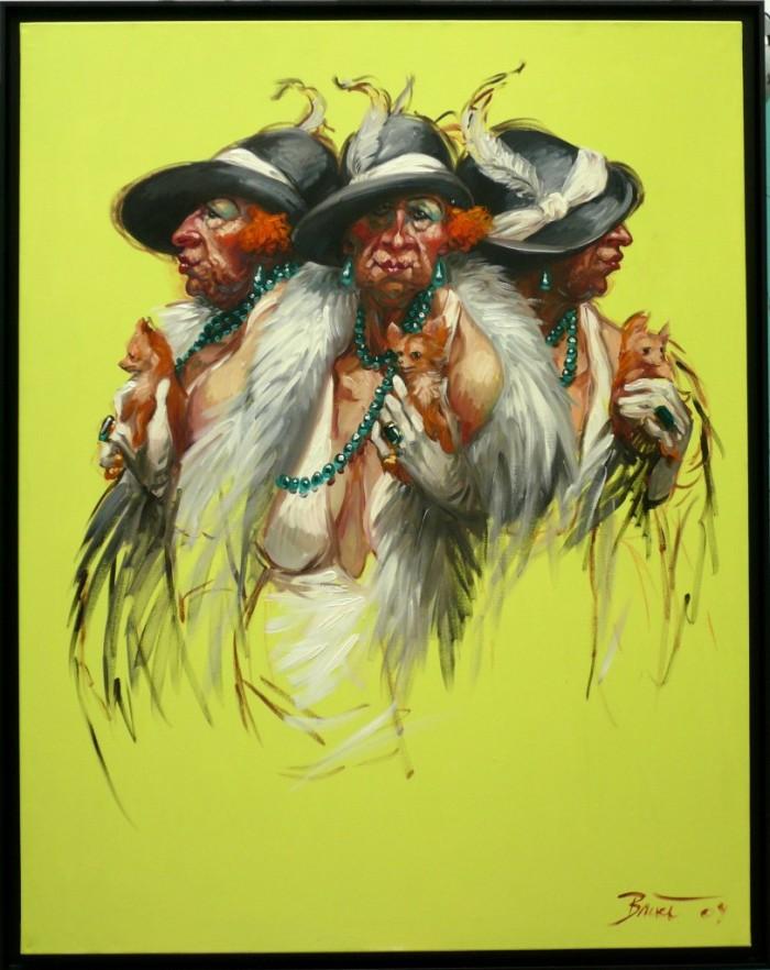 TRIPLE PORTRAITS DE MADAME CHIHUAHUA