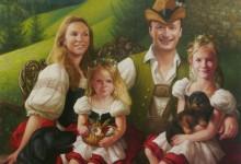 PORTRAIT OF THE FAMILY MARC DE GUNZBURG