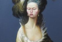 shanghai Princess dry pastel on paper 100 cm x 70 cm