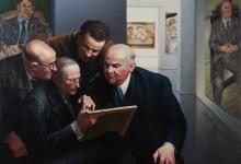 EXPERTISE – Oil on canvas – 89 cm x 116 cm